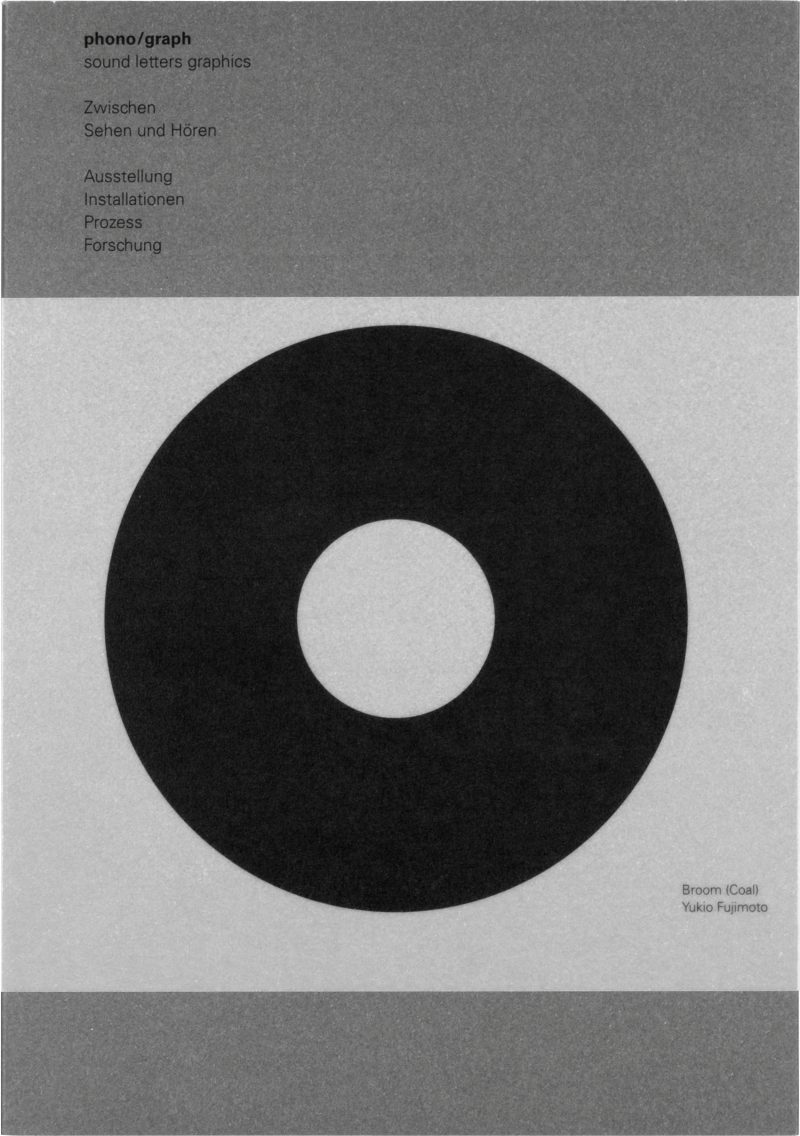 phono/graph – sound letters graphics, Cover, David Fischbach